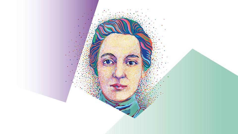 Aleksandra Piłsudska. Rys. Beata Sosnowska