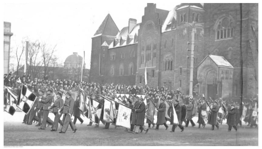 Obchody rocznicy powstania wielkopolskiego w Poznaniu, 1938. Fot. NAC