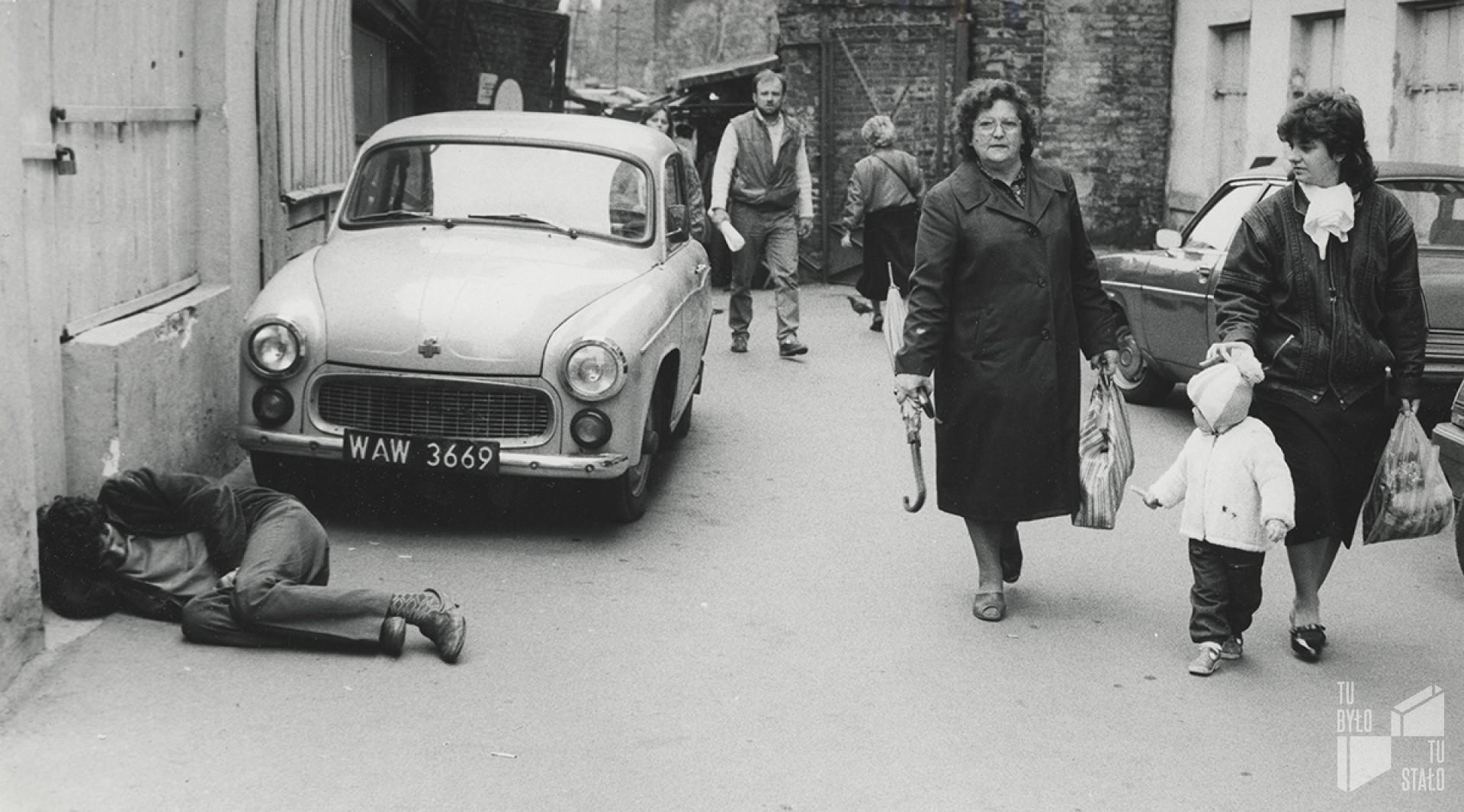 Fot. Jan Skaryski / Społeczne Archiwum Warszawy, lata 80.
