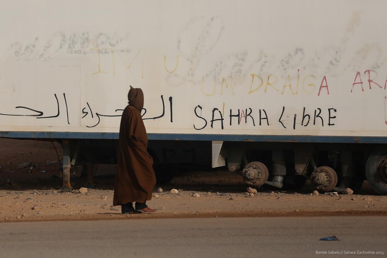 Sahara Zachodnia, 2013. Fot. Bartek Sabela