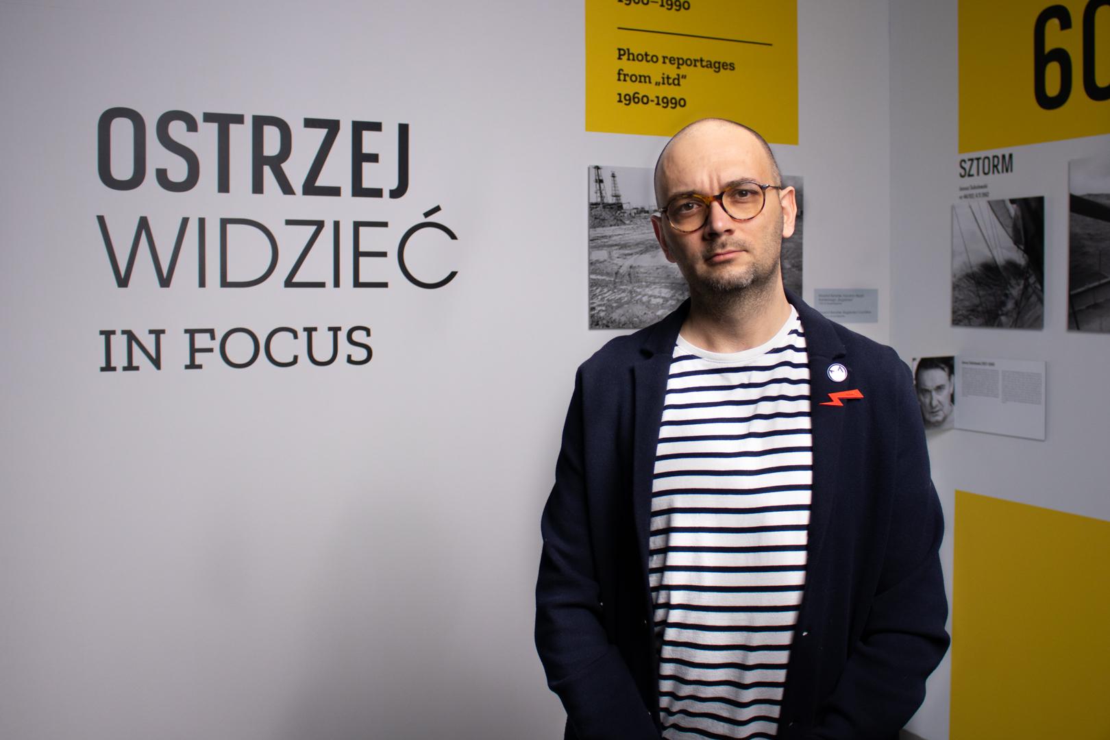 Filip Springer, fot. Robert Olszański/DSH.