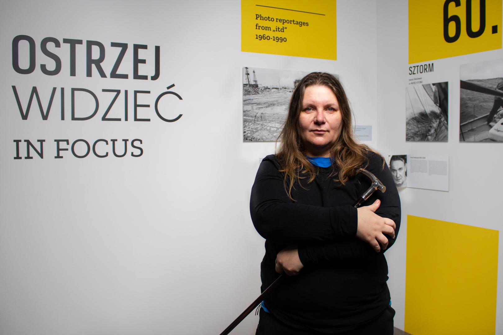 Angelika Kuźniak, fot. Robert Olszański (Dom Spotkań z Historią)