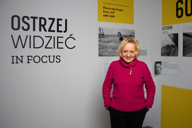 Aleksandra Boćkowska, fot. Robert Olszański (Dom Spotkań z Historią)