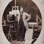 Maksymilian Fajans, autoportret w pracowni, 1861