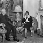 Prezydent Ignacy Mościcki z żoną Marią, Warszawa 1934