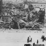 Warszawa 1946. Ruiny Dworca Głównego