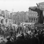 Warszawa, 4 stycznia 1947, fot. PAP/Jerzy Baranowski
