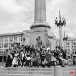 Warszawa 30 czerwca 1954, fot. PAP/Zdzisław Wdowiński