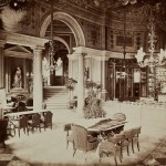 Warszawa. Cukiernia Lourse'a w Hotelu Europejskim, 1872