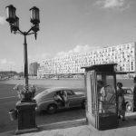 Warszawa, 1962. Plac Dzierżyńskiego, obecnie plac Bankowy. Fot. Zbyszko Siemaszko/FORUM