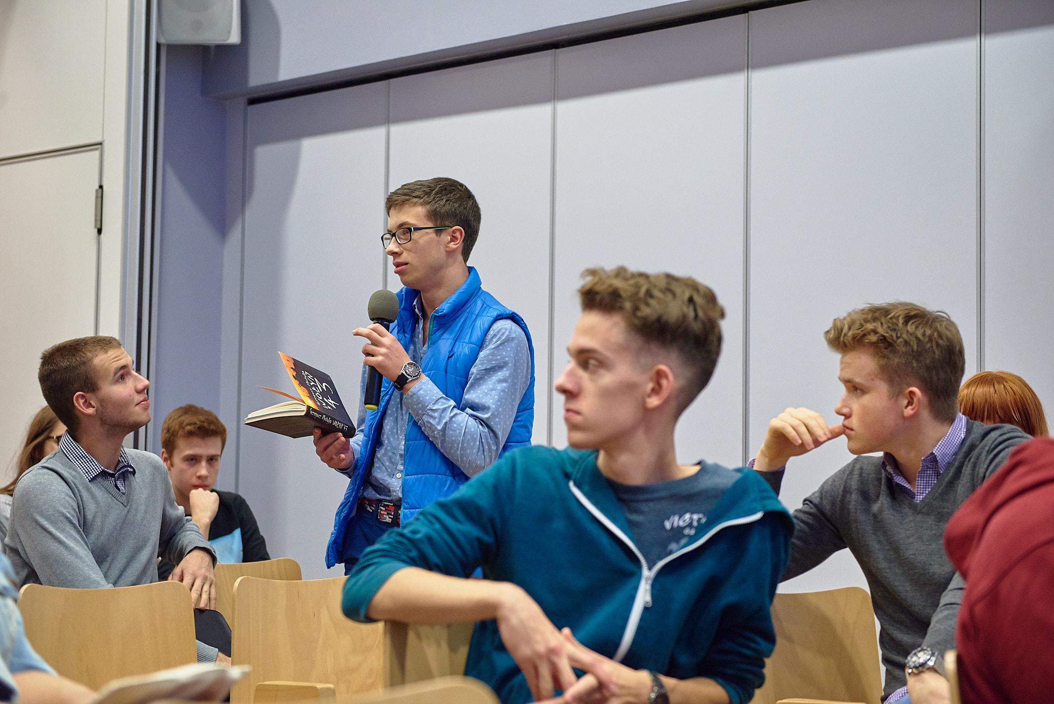 Spotkanie Młodzieżowych Klubów Historycznych w DSH. Fot. Ola Drutkowska