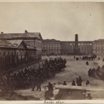 Plac Saski, Warszawa, 1861