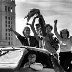 Warszawa, sierpień 1955