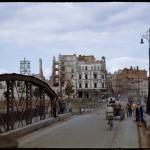 Wrocław, most Lessinga, obecnie na jego miejscu stoi Most Pokoju